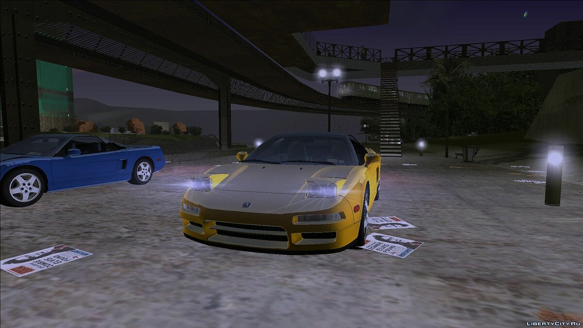Car Acura NSX (NA1) 1991 for GTA 3