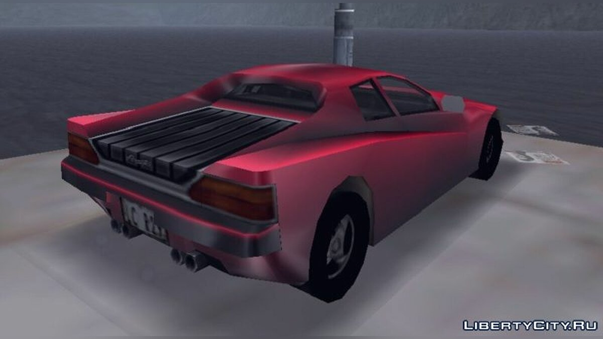 Car Beta Rocket (Final Style) for GTA 3