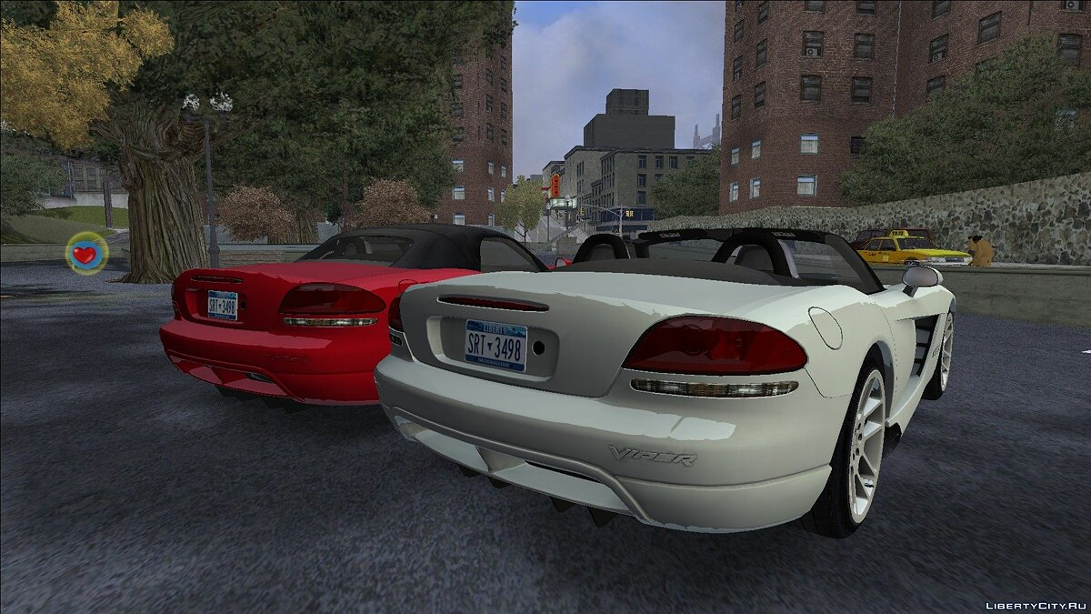 Car Dodge Viper SRT-10 2003 for GTA 3