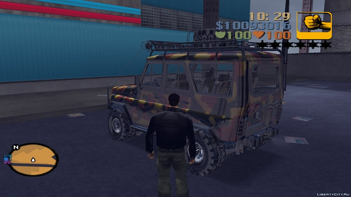 UAZ 31514 for trophy raids for GTA 3 - Картинка #3