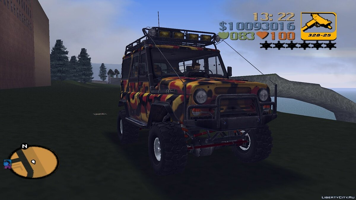 UAZ 31514 for trophy raids for GTA 3 - Картинка #1