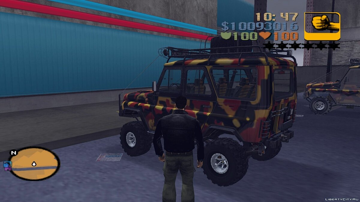 UAZ 31514 for trophy raids for GTA 3 - Картинка #4