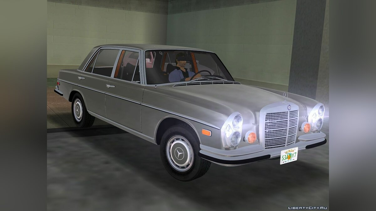 Mercedes-Benz 300 SEL (W109) for GTA 3 - Картинка #8