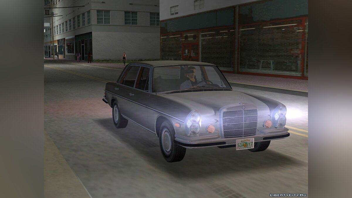 Mercedes-Benz 300 SEL (W109) for GTA 3 - Картинка #2
