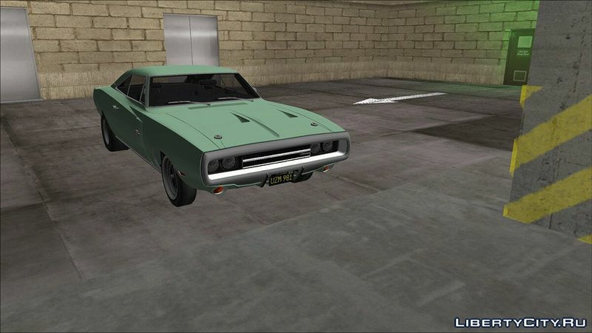 Car Dodge Charger 440 1970 for GTA 3