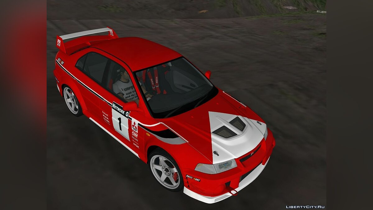 Mitsubishi Lancer Evolution VI - Tommi Makinen for GTA 3 - Картинка #4