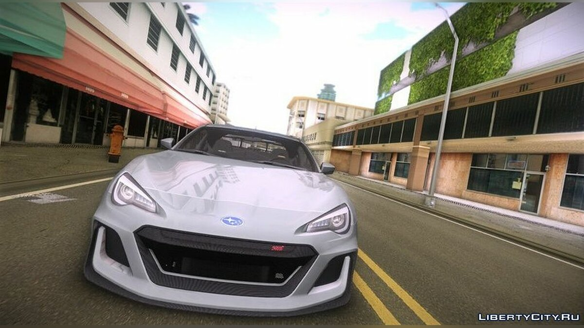 Car Subaru BRZ STi Performance Concept for GTA 3