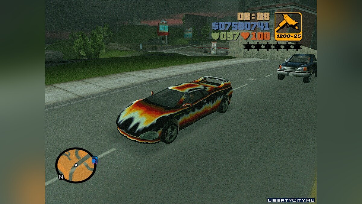 Diabolo Infernus for GTA 3 - Картинка #1