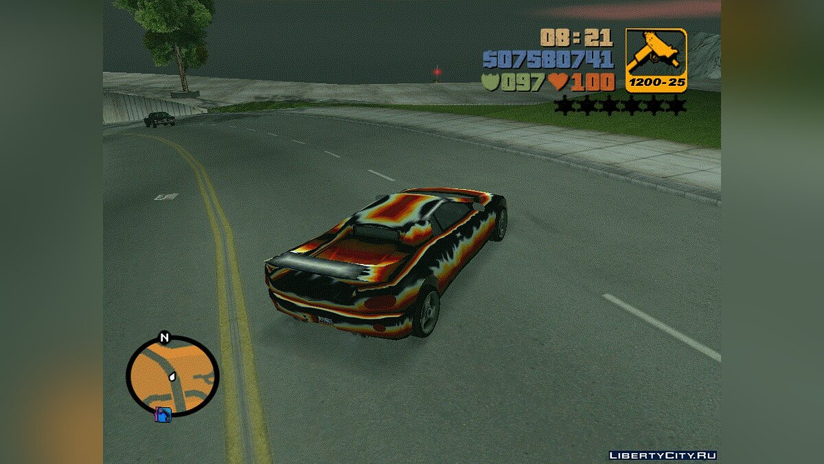 Diabolo Infernus for GTA 3 - Картинка #2