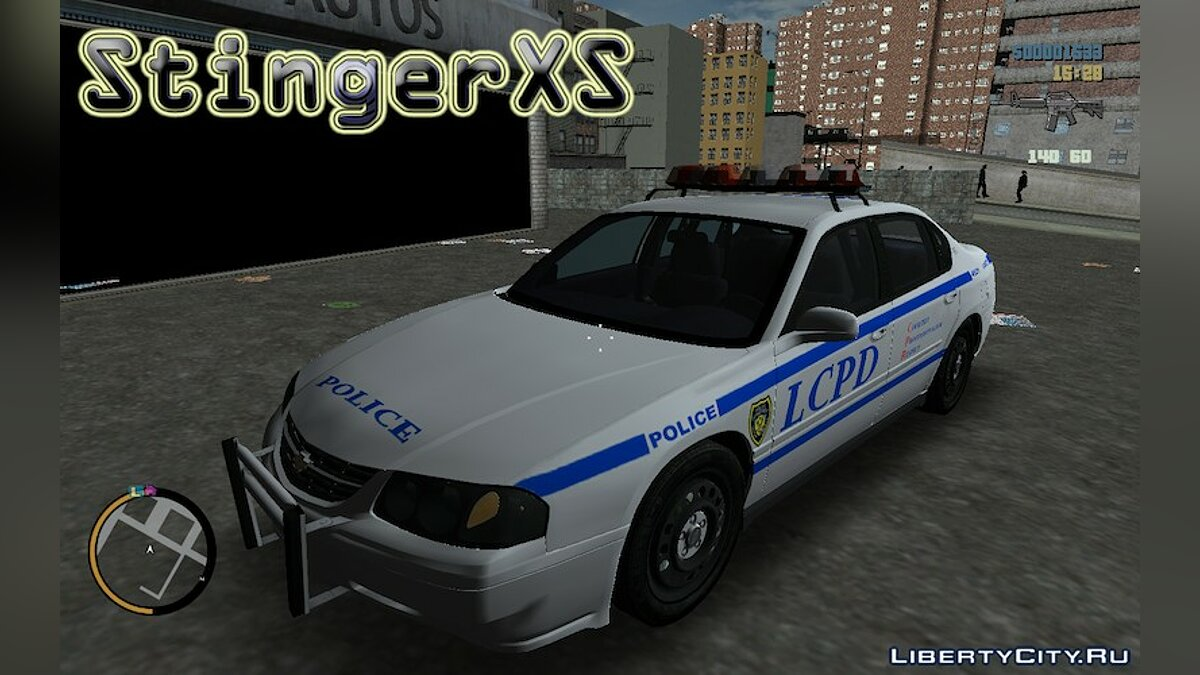Chevrolet Impala Police Department for GTA 3 - Картинка #1