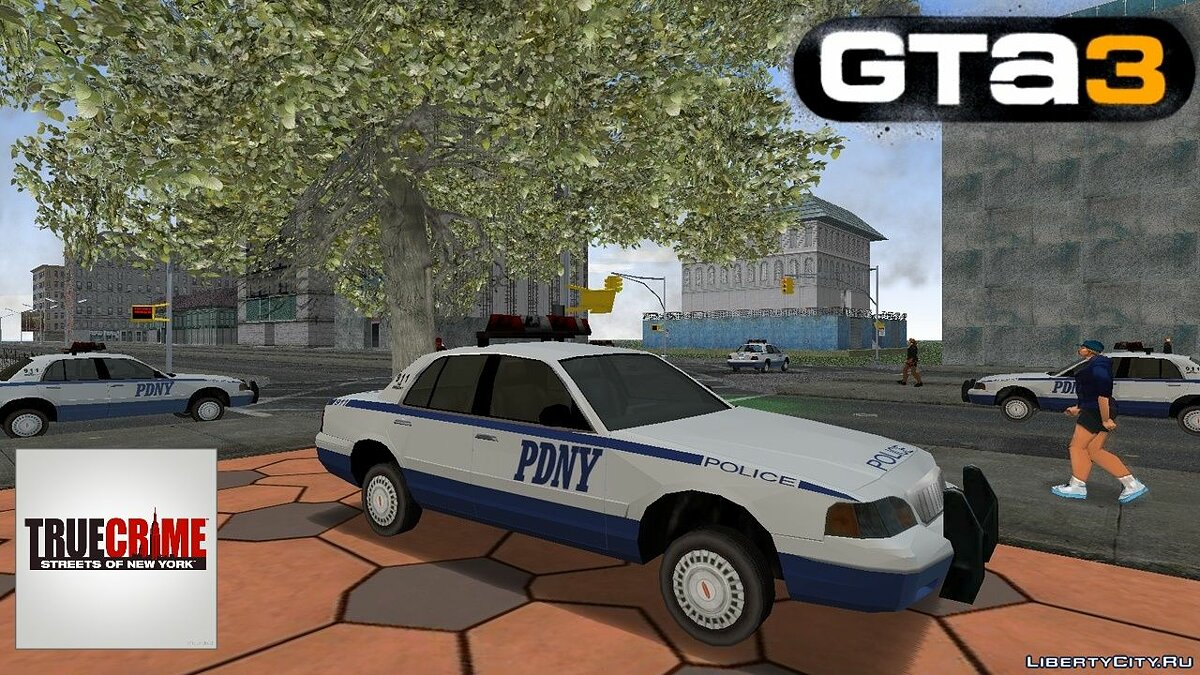 Car Police from True Crime: New York City for GTA 3
