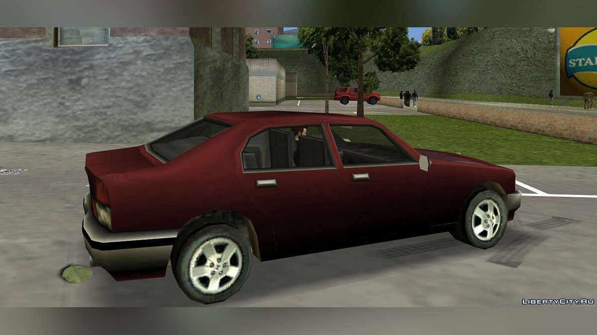 Car Sentinel from PS2 for GTA 3