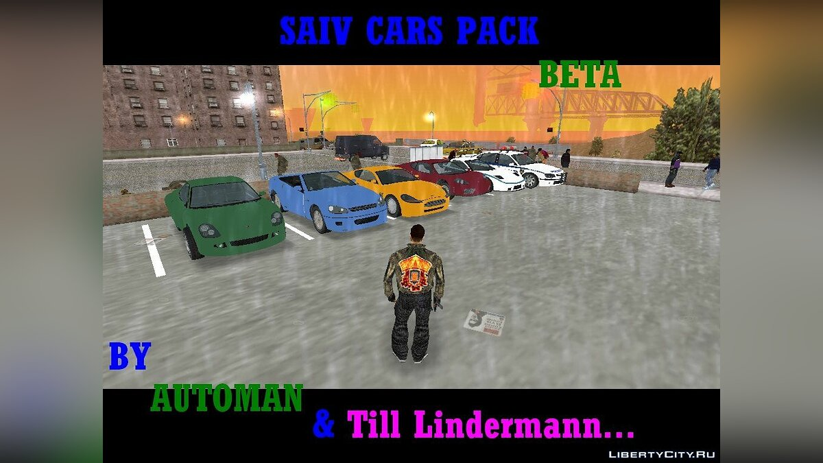 SAIV cars pack beta for GTA 3
