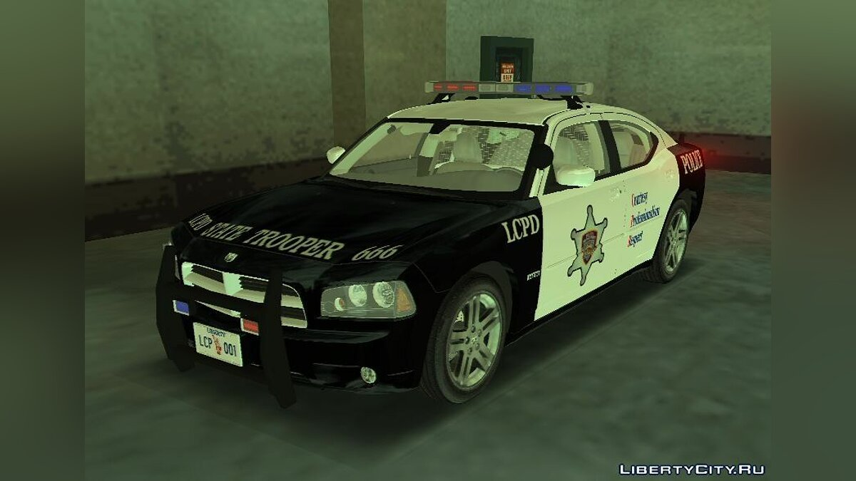 Dodge Charger R / T Police v2.0 for GTA 3 - Картинка #1
