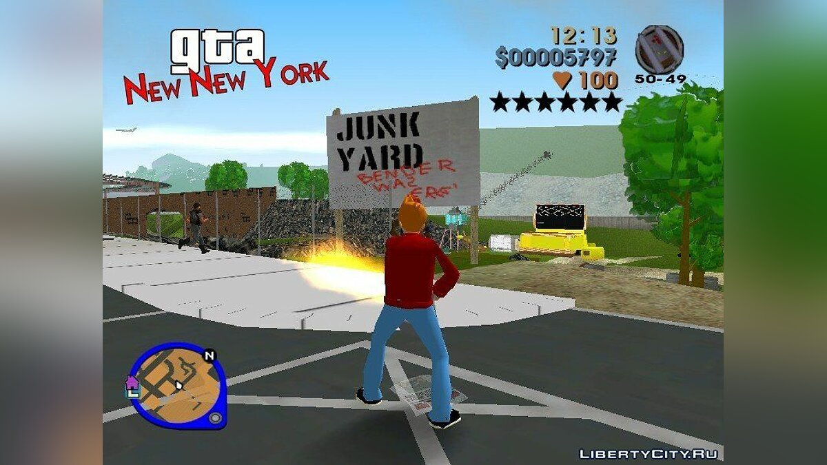 GTA: New New York for GTA 3 - screenshot #9