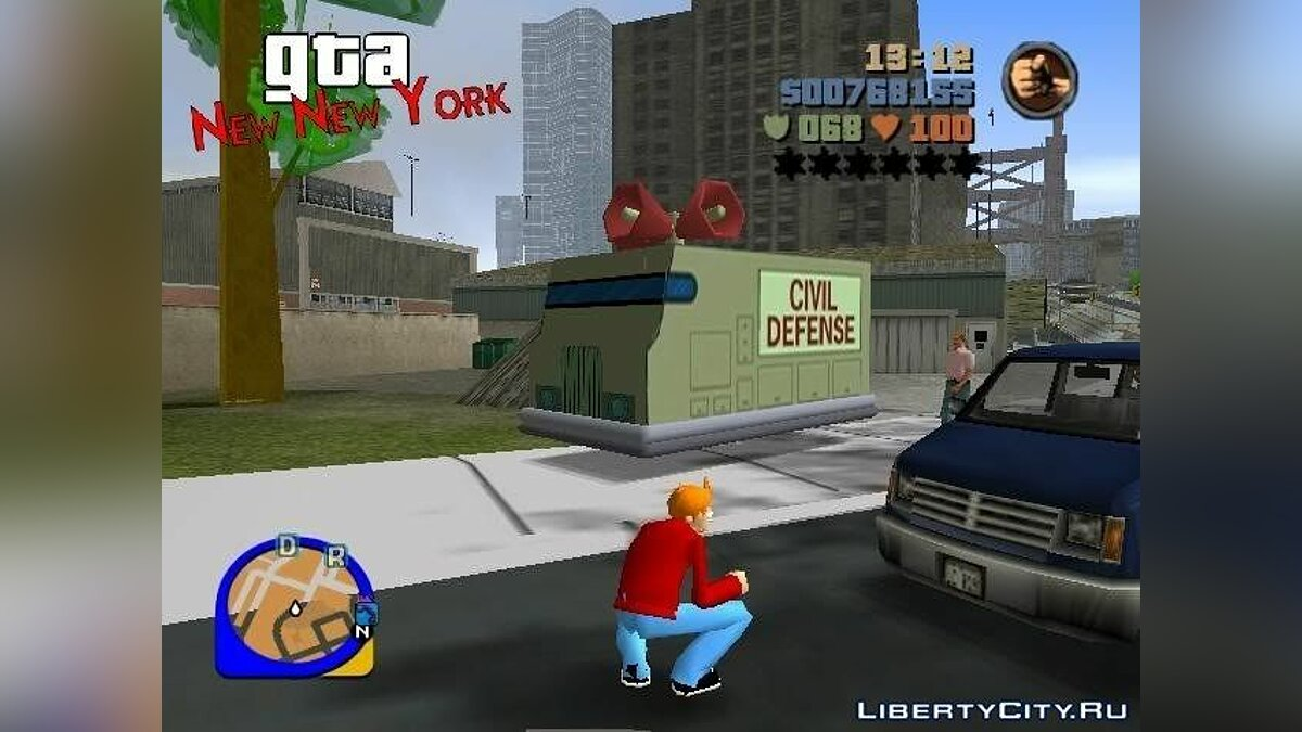 GTA: New New York for GTA 3 - screenshot #2