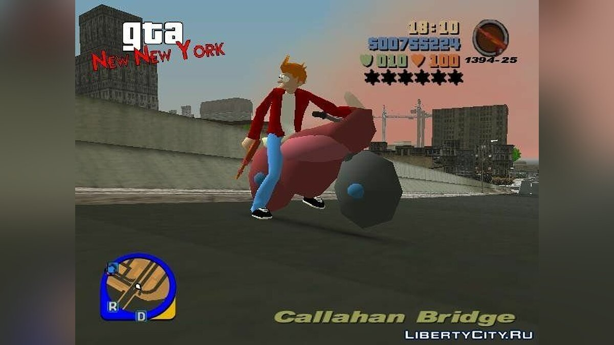GTA: New New York for GTA 3 - screenshot #4