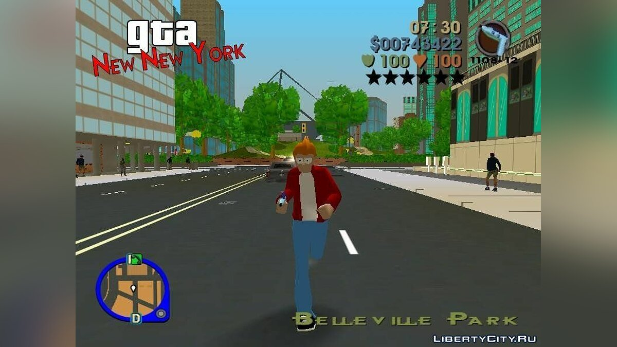 GTA: New New York for GTA 3 - screenshot #5