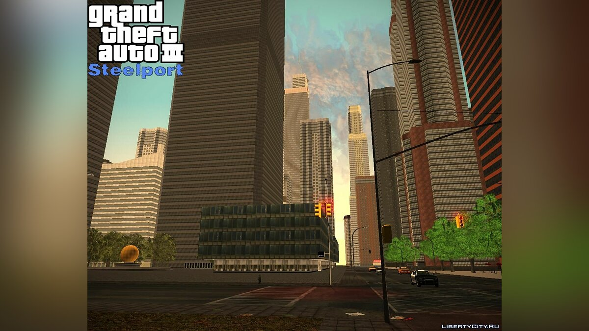 Global mod GTA3: Steelport BETA1 for GTA 3