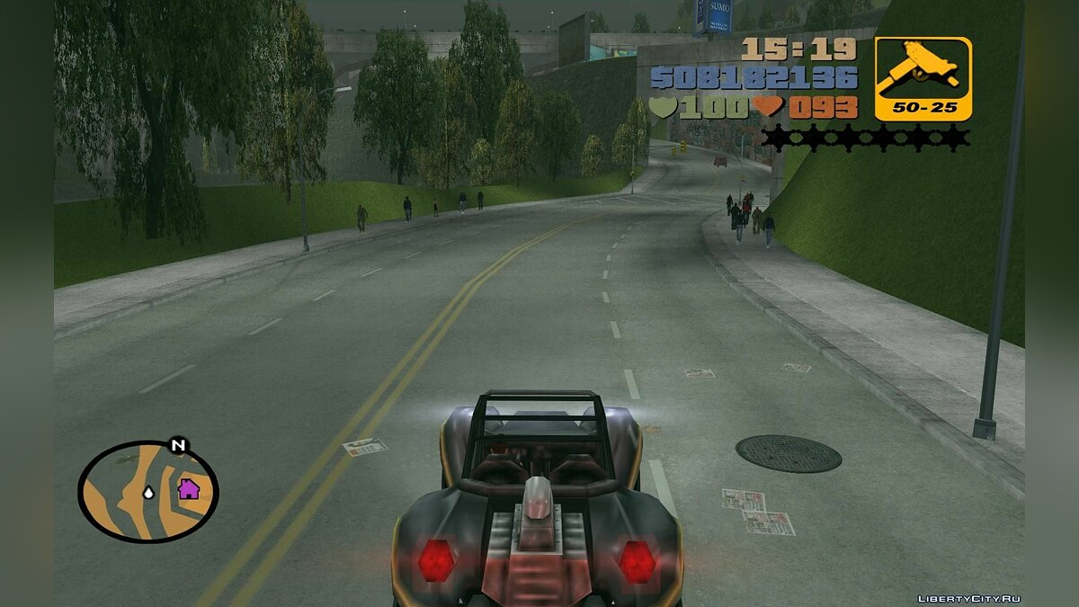 Global mod Grand Theft Auto 3