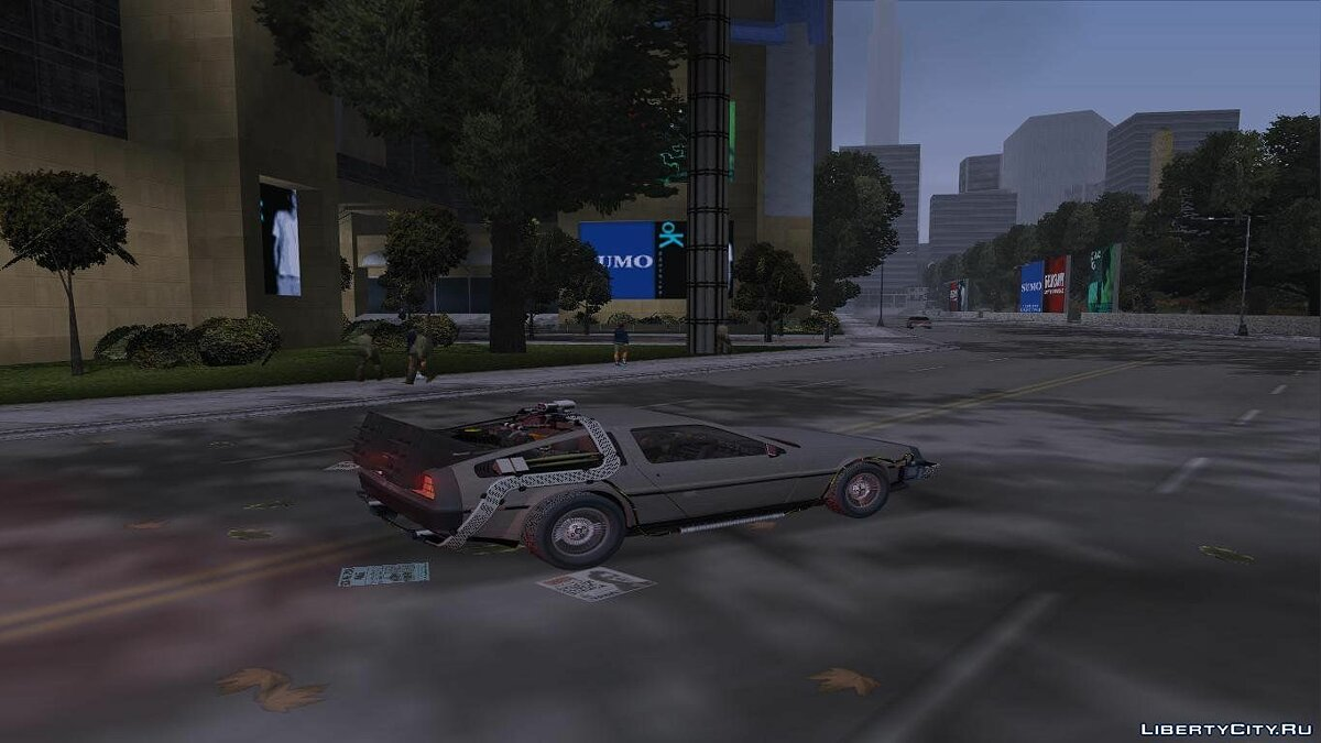 Back to the Future: Liberty City for GTA 3 - screenshot #4