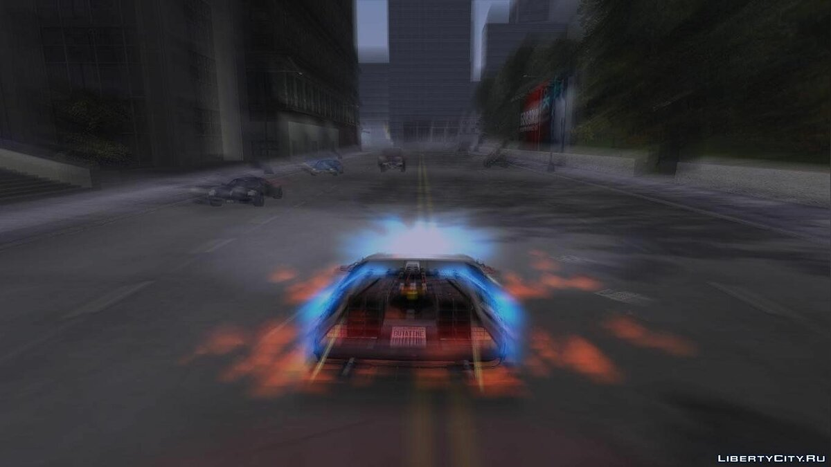 Back to the Future: Liberty City for GTA 3 - screenshot #8