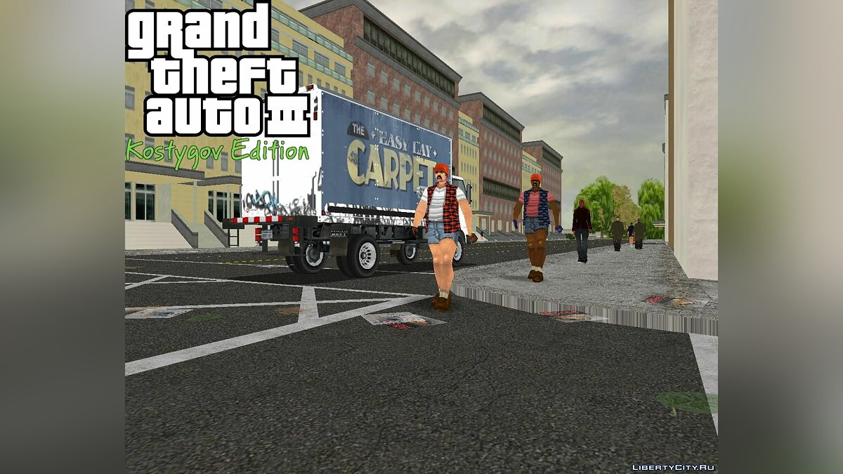 Global mod GTA3: Kostygov Edition FULL. for GTA 3