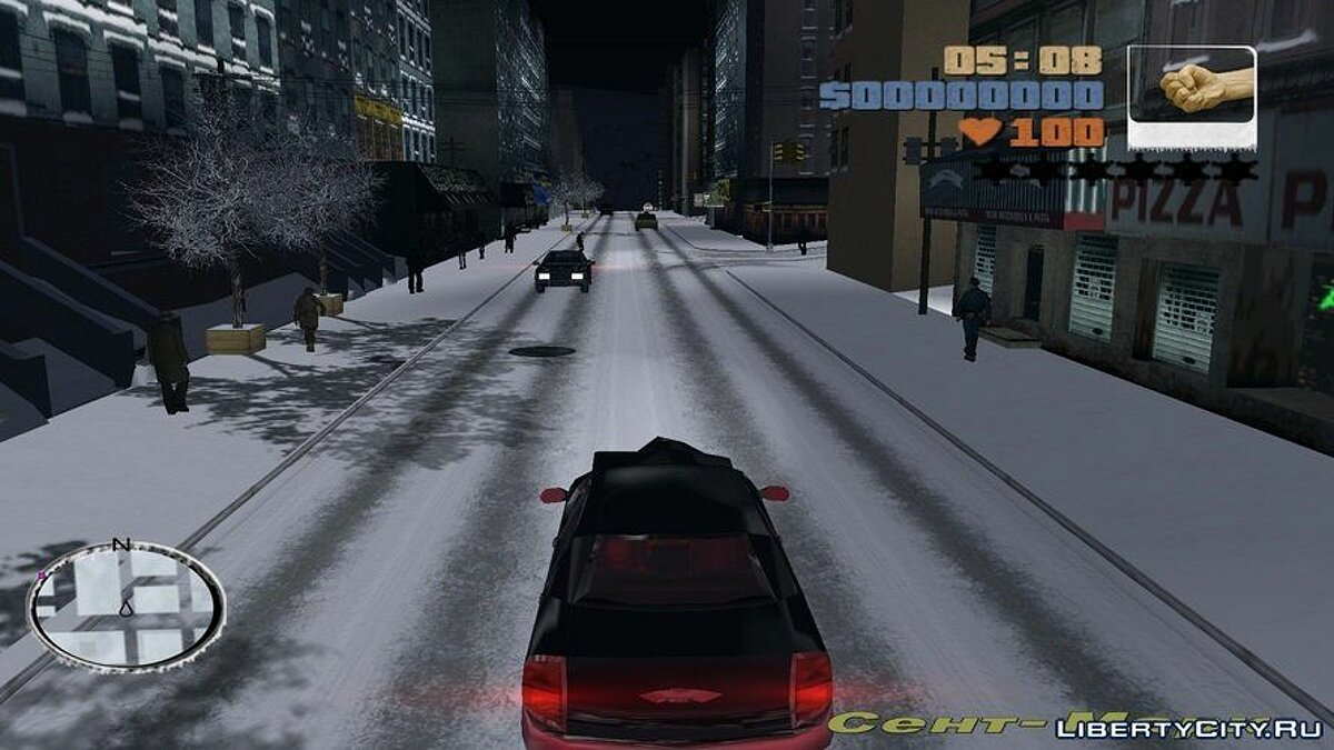 GTA III Snow City v1.1 RePack for GTA 3 - screenshot #5