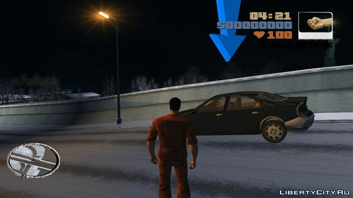 GTA III Snow City v1.1 RePack for GTA 3 - screenshot #4