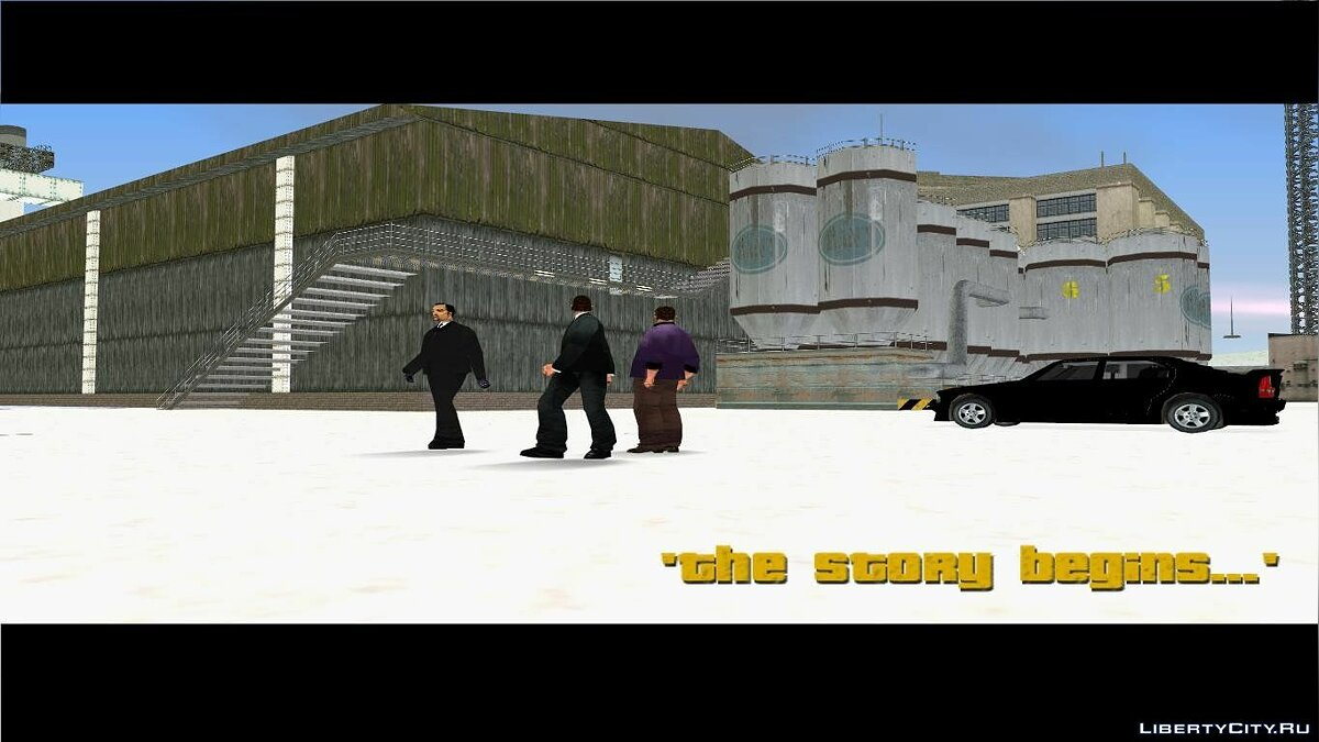 Grand Theft Auto 3 Frosted Winter for GTA 3 - screenshot #4