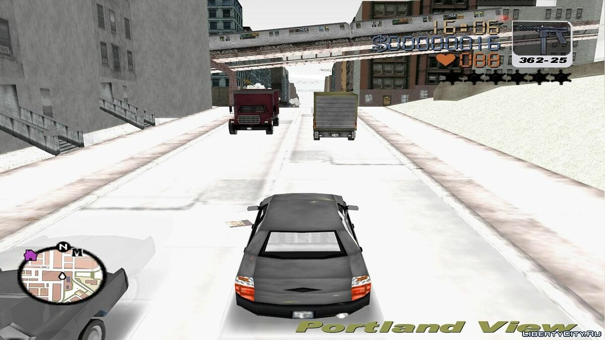 Grand Theft Auto 3 Frosted Winter for GTA 3 - screenshot #3