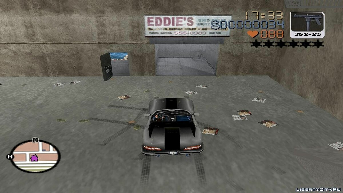Grand Theft Auto 3 Frosted Winter for GTA 3 - screenshot #2