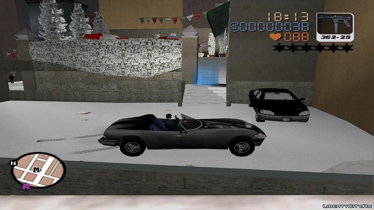 Grand Theft Auto 3 Frosted Winter for GTA 3 - screenshot #6