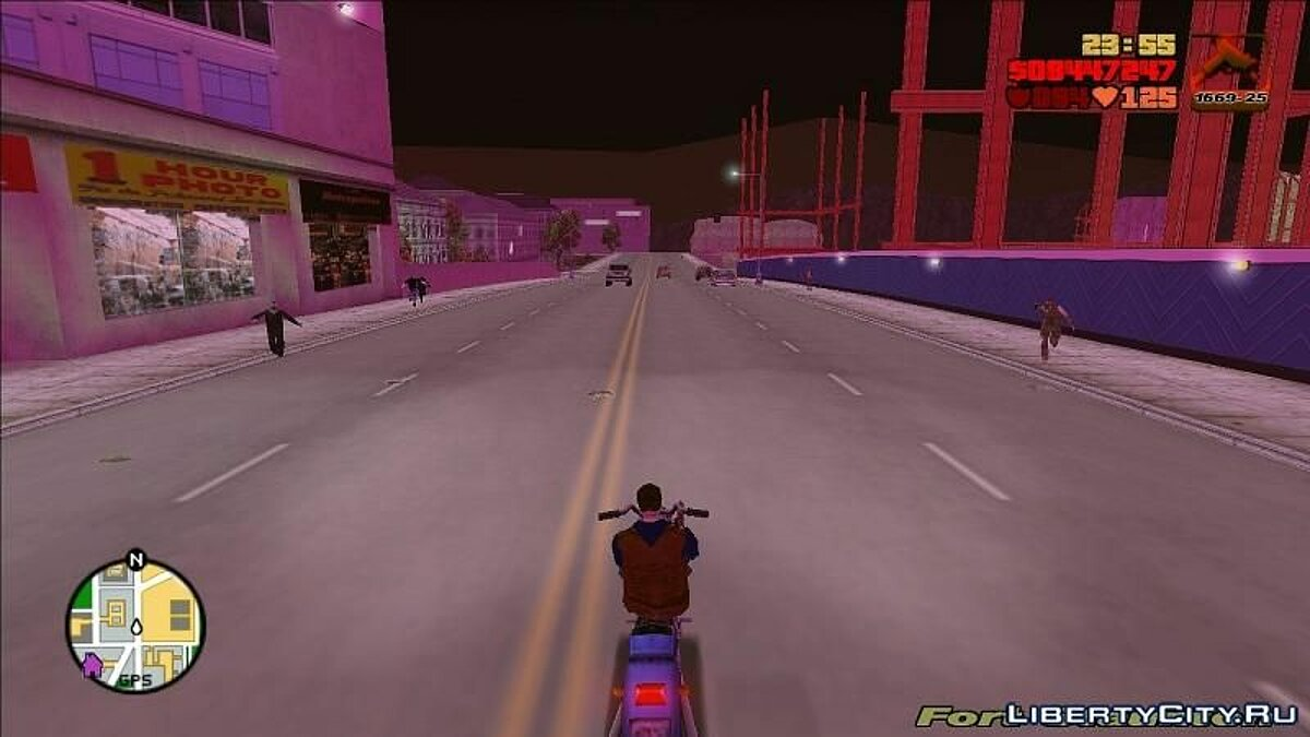 Global mod GTA III - Zombie Mod for GTA 3