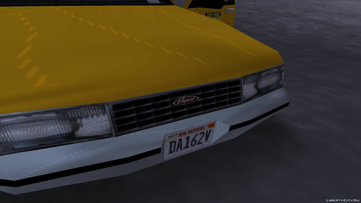 Car textures New HD textures for taxi for GTA 3