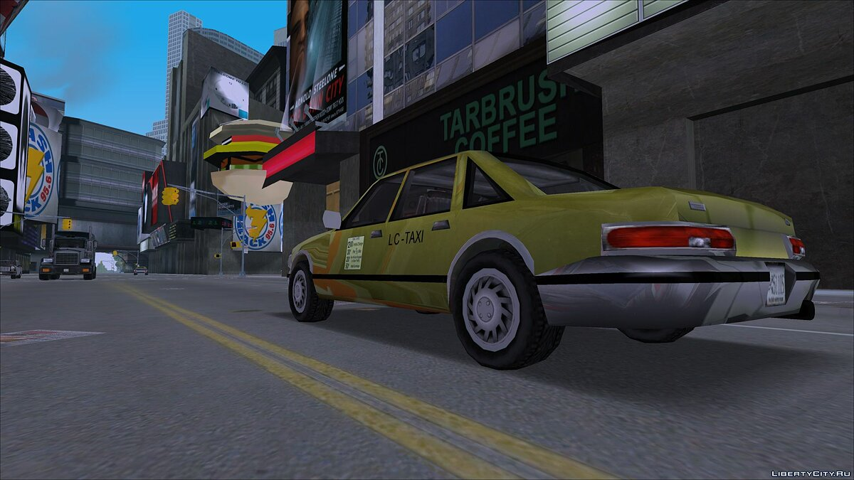 Car textures [III / VC] LCS Wheels for GTA 3
