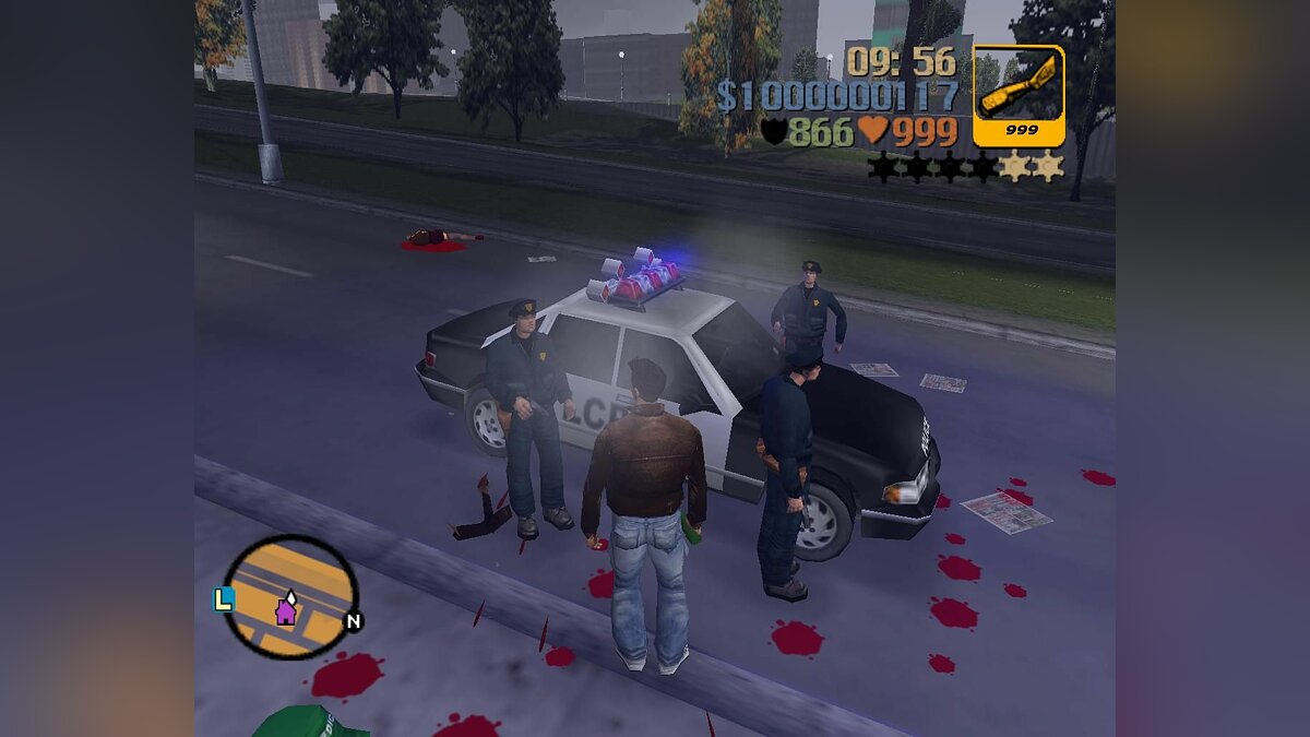 "Building ""Cheater's mods"" for GTA 3"