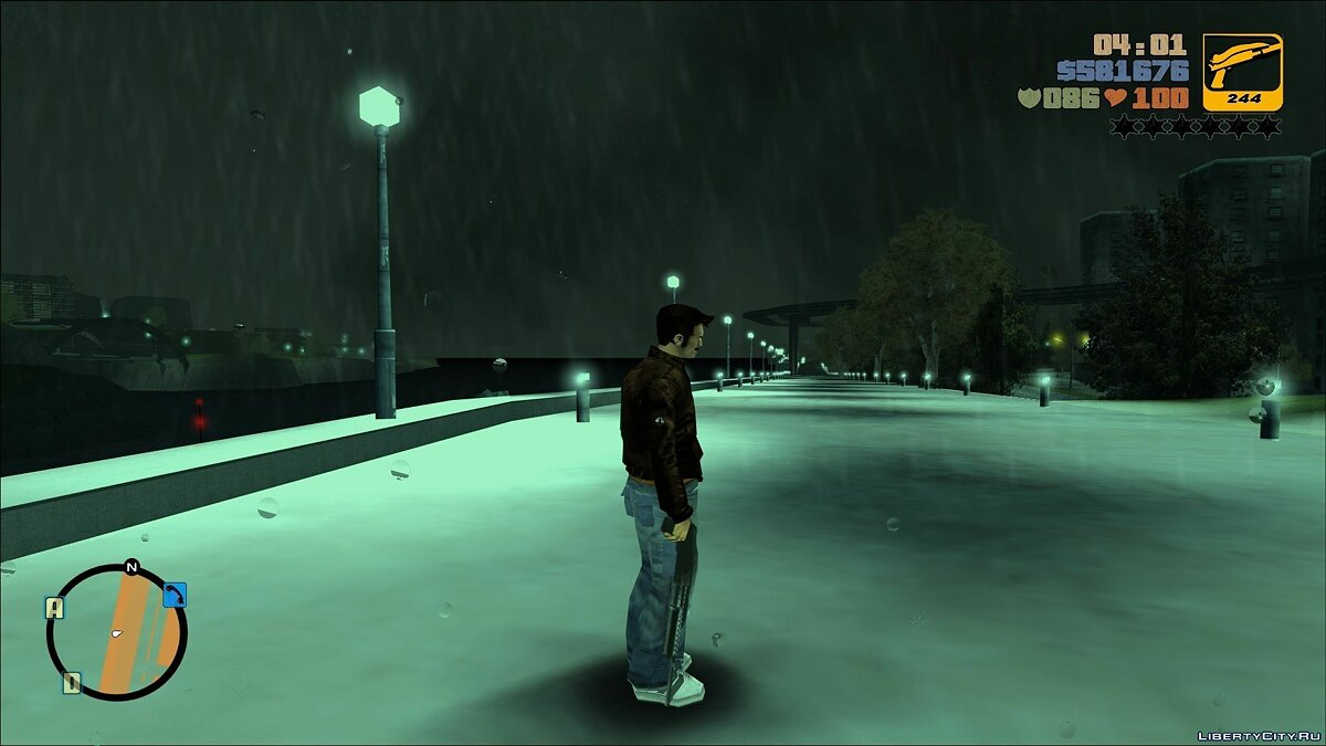 Mod OBJ Distance - Enlarged drawing objects for GTA 3
