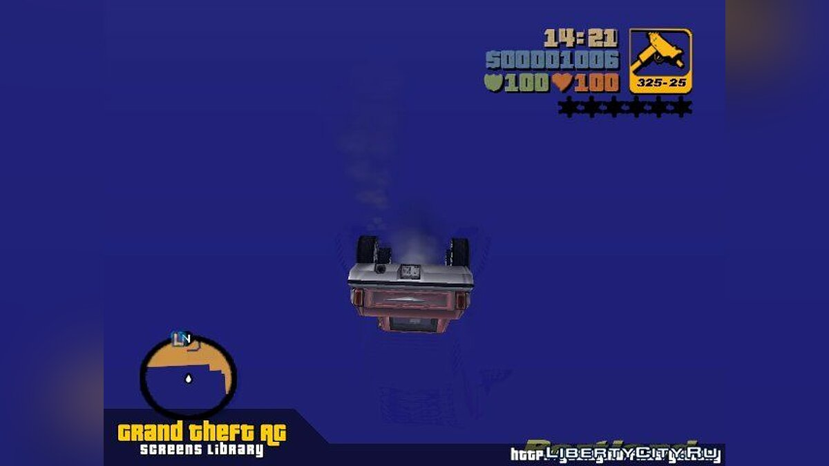 It does not sink in the water for GTA 3 - Картинка #1