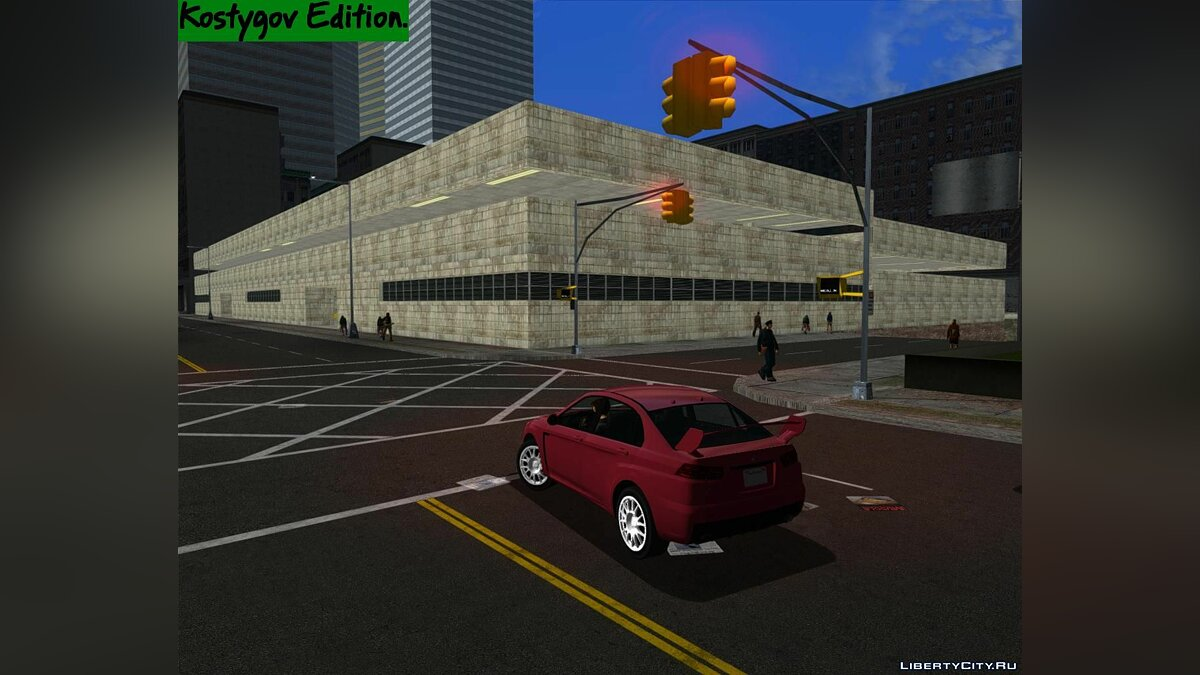 Mod Dynamic Light Fix. Part 1. for GTA 3