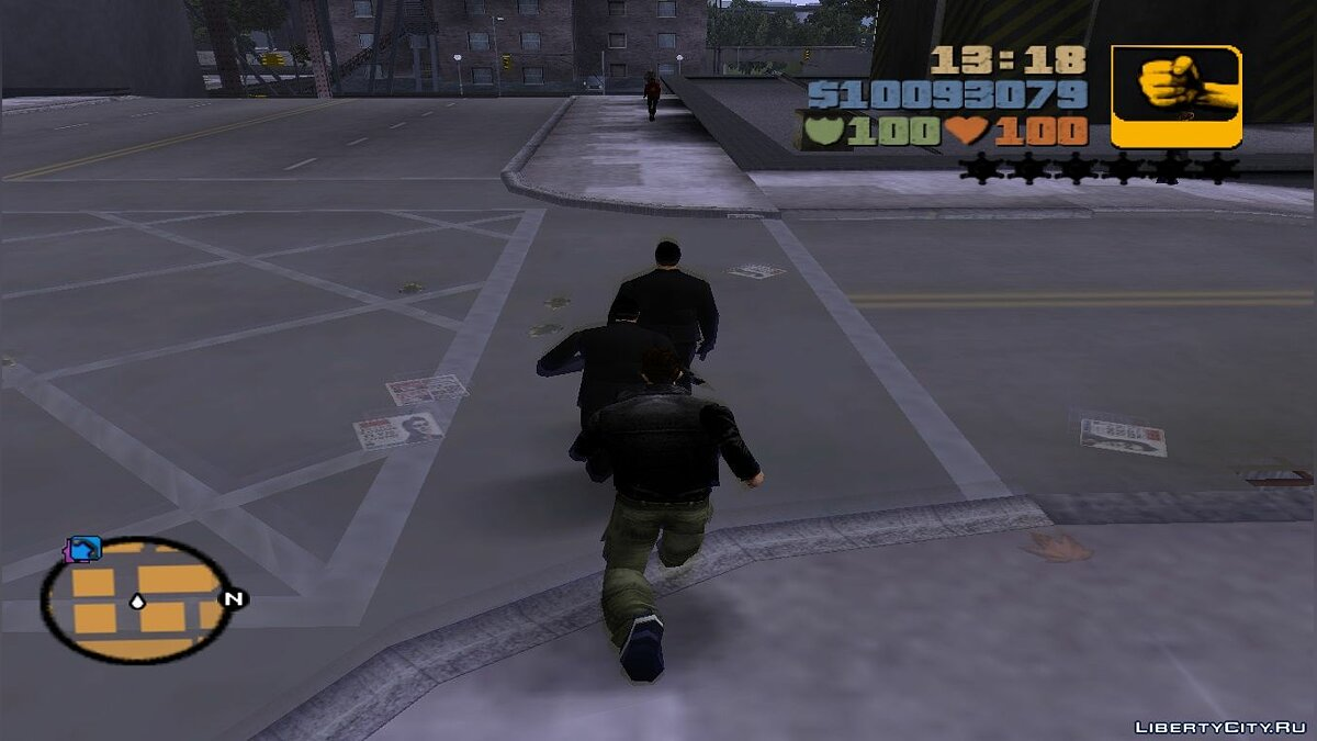 All gangs are afraid of you for GTA 3