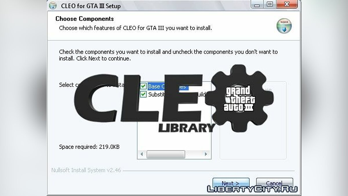 Program CLEO v1.0.1.7 for GTA 3