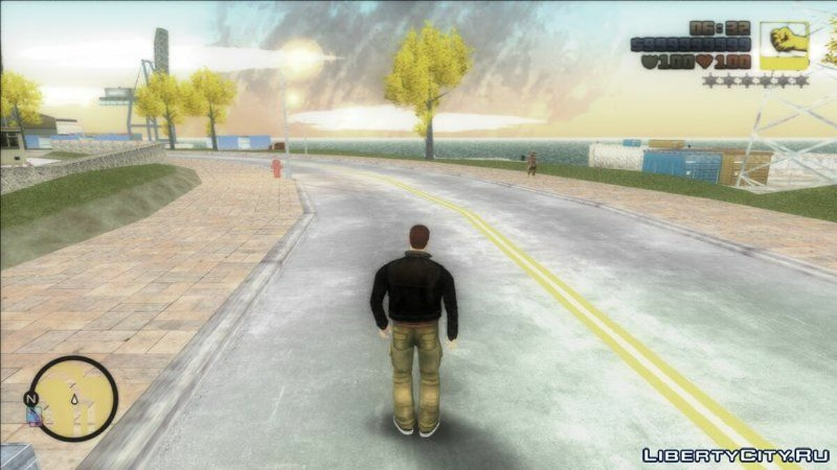 ENB mod Softening the color filter for GTA 3