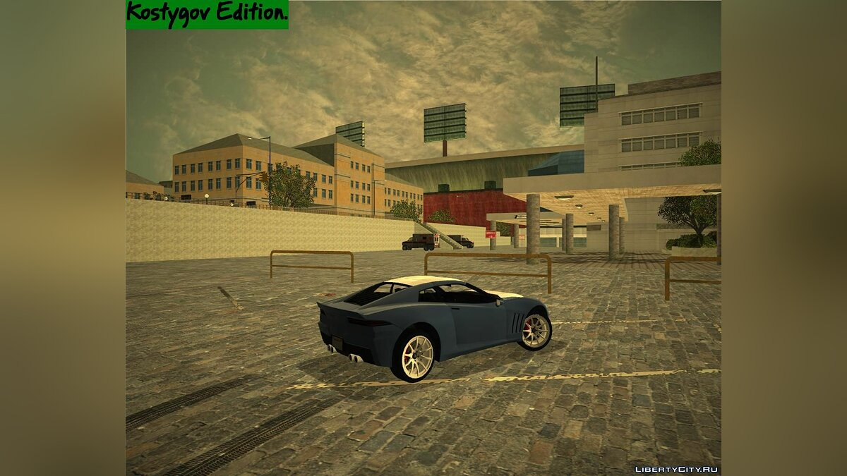 ENB mod RAGE Spirit Project. for GTA 3