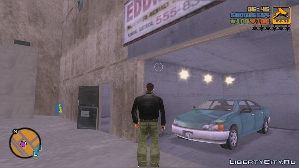 ENB mod Improved Optimized Graphics for GTA 3