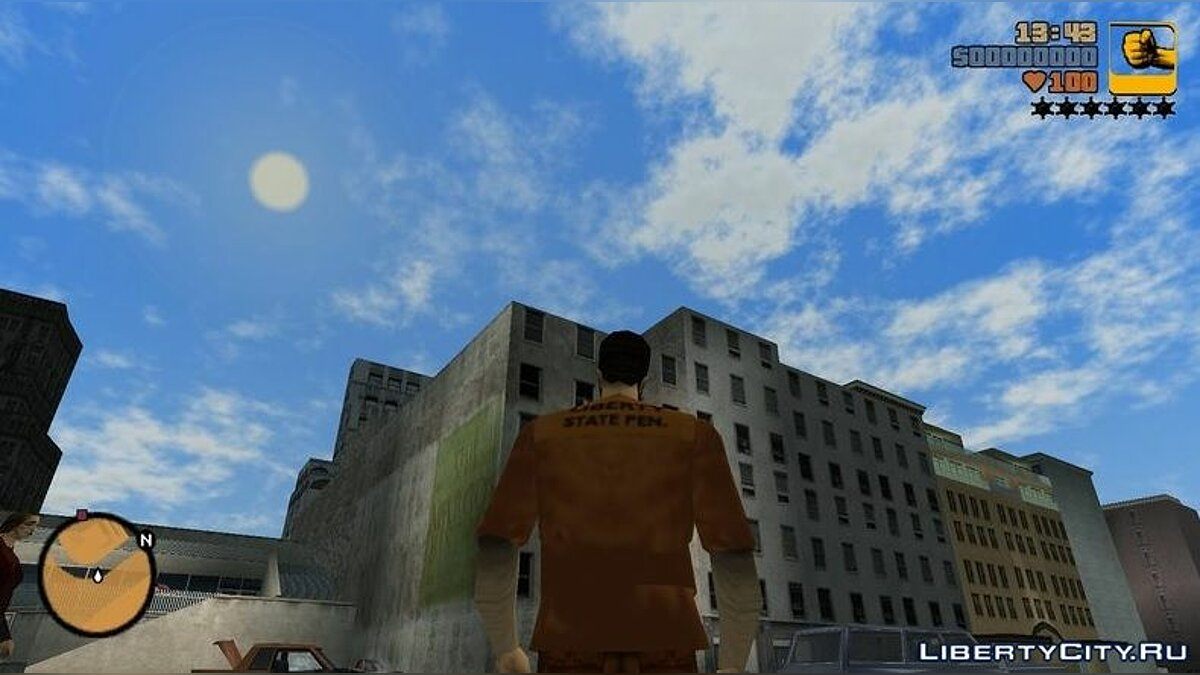 ENB mod Atmospheric time of day for GTA III for GTA 3