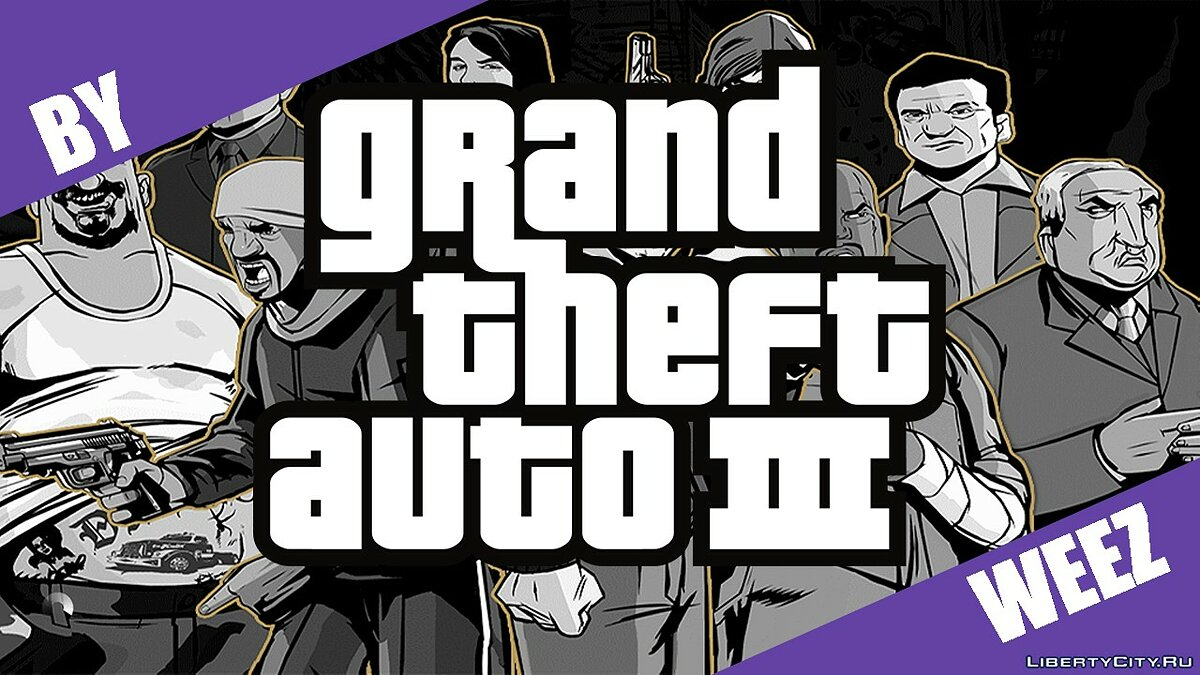 Build mods for GTA III [STEAM] for GTA 3