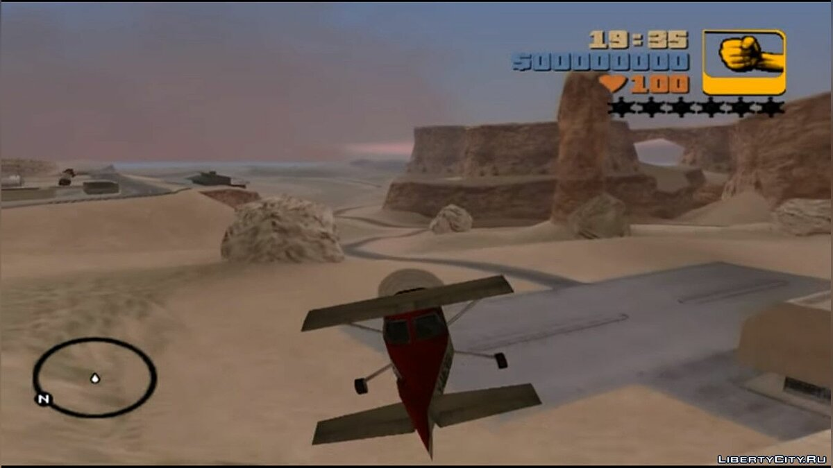 Flight by state San Andreas on the engine GTA 3 for GTA 3
