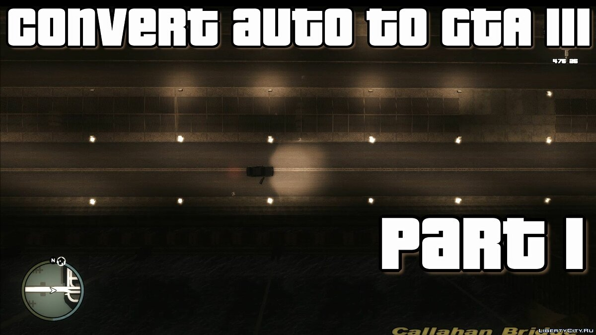 Converting auto from GTA SA to GTA 3 for GTA 3
