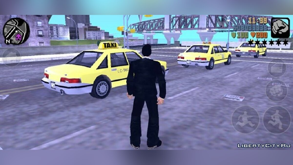 CLEO script More traffic for GTA 3 (iOS, Android)